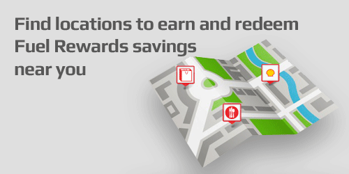 Find locations to earn and redeem Fuel Rewards savings near you